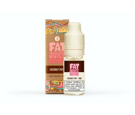 liquide coconut puff : gâteau noix de coco fat juice factory