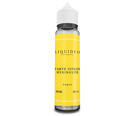 Tarte Citron Meringuée 50ml Tentation de Liquideo
