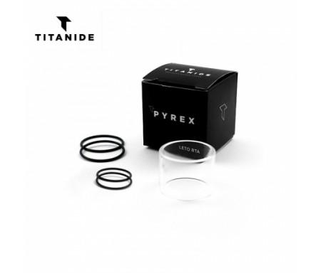 Pyrex Leto RTA 24 2ml / 3ml Titanide