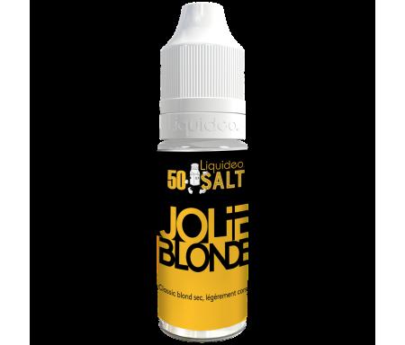 Jolie Blonde sels de nicotine 10ml Fifty nicsalt de Liquideo