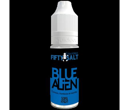 Blue Alien sels de nicotine 10ml Fifty nicsalt de Liquideo