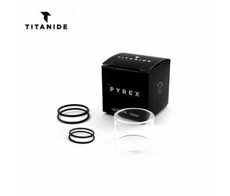 Pyrex Leto RTA 22 2ml / 3ml Titanide