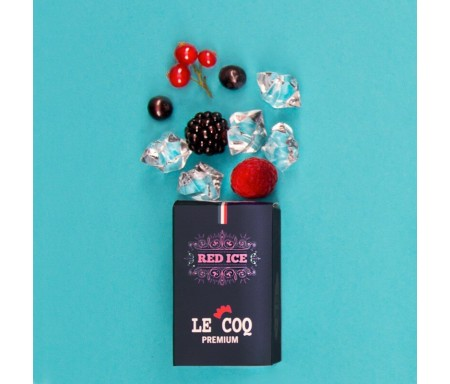Red Ice 10ml Le Coq Premium - Le Coq Qui Vape