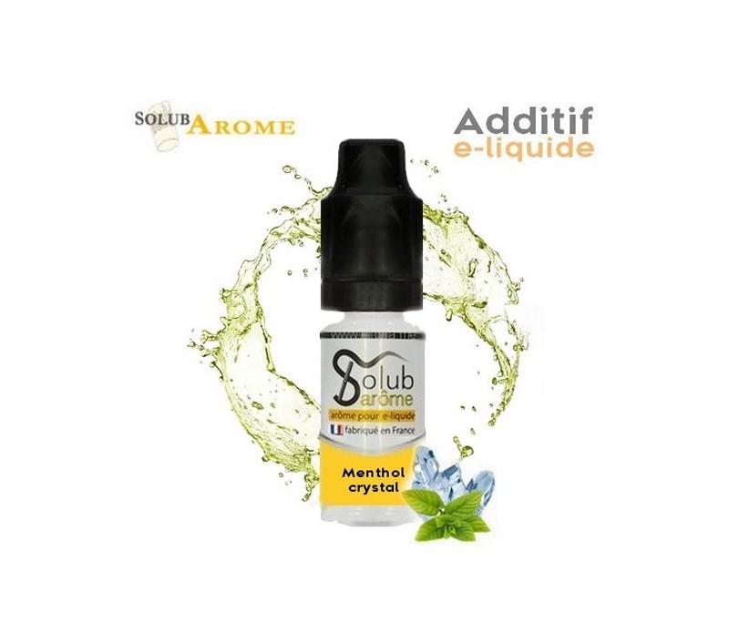 additif menthol crystal pour e-liquide DIY solubarome
