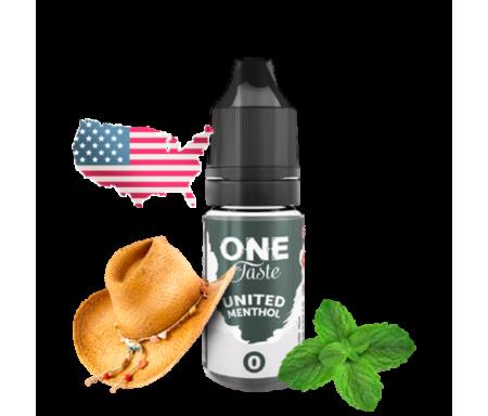 United menthol 10ml One Taste de E.Tasty