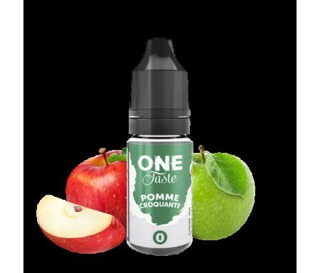 Pomme croquante 10ml One Taste de E.Tasty