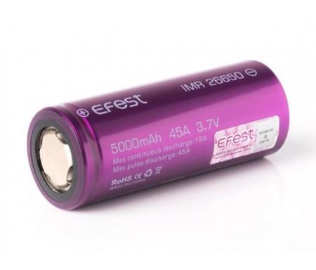 batterie accu efest 26650 5000MAH mAh