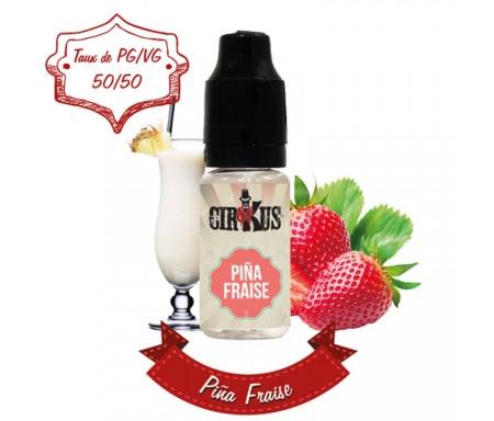 e-liquide pina colada - fraise de CirKus (VDLV)