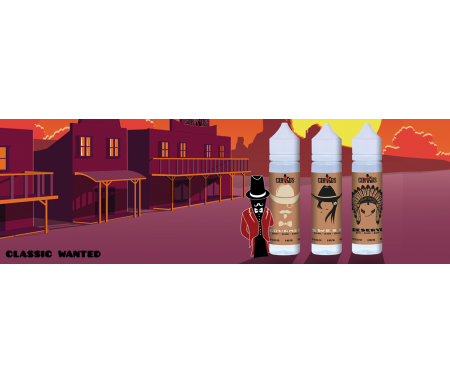 Gamme 50ml shake and vape Vincent dans les vapes Classic Wanted