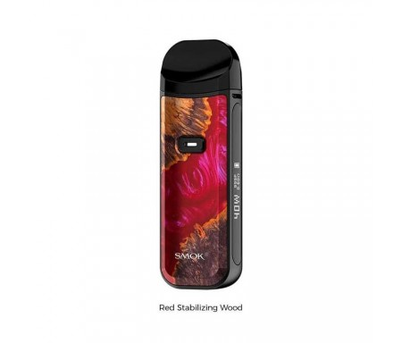 Smok kit nord pod 2 red stabilizing wood