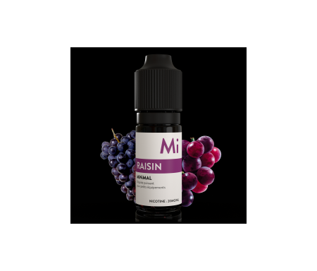 e-liquide sel de nicotine, raisin de The Fuu