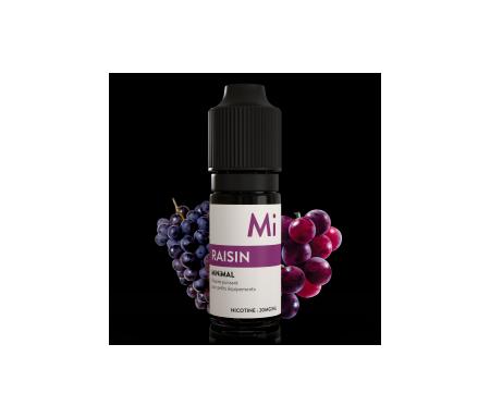 e-liquide sel de nicotine, raisin de The Fuu