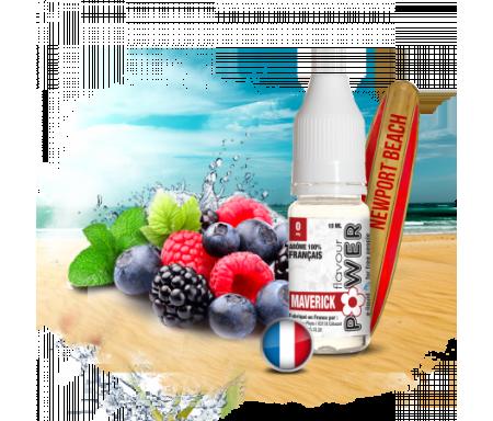 E-liquide Maverick 50/50 PG/VG Flavour Power, est un mélange fruité et rafraichissant des Fruits Rouges et de la Menthe.