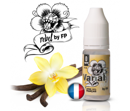 Vanaly - Rebel de chez Flavour Power, un savoureux juice parfum vanille...La Force et la Douceur de la Vanille des îles