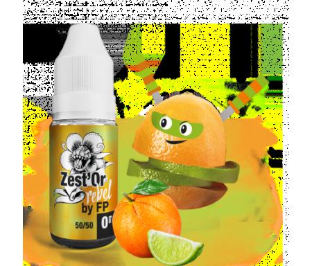 Zest'Or - Rebel (Flavour Power), un juice frais et acidulé d'orange et de citron Vert...