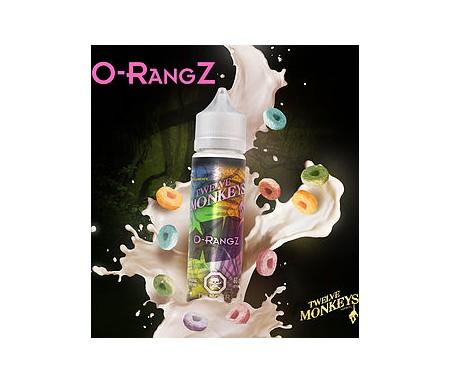 O-Rangz en 50 ml de chez Twelve Monkeys, un e-liquide saveurs céréales, yaourt et citron.