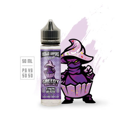 e-liquide greedy wallace 50ml