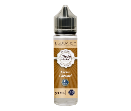 e-liquide crème caramel 50ml-tasty collection