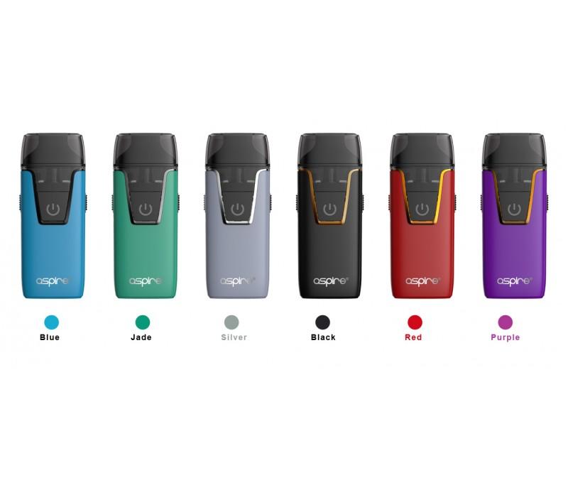 Kits e cigarette Nautilus AIO POD - couleurs