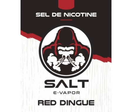 e liquide red dingue sel de nicotine - Le French Liquide