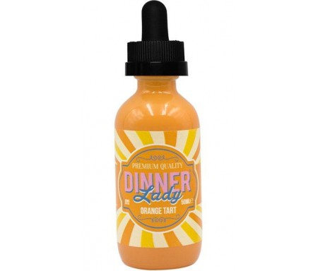 e liquide GOURMAND ORANGE TART 50 ml - dinner lady - Tarte à l'orange