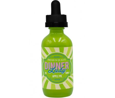 e liquide gourmand apple pie 50 ml - dinner lady - Tarte à la pomme
