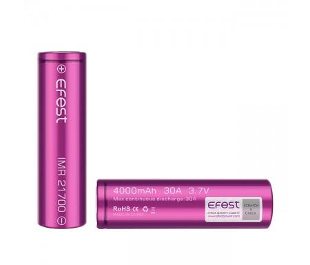 Batterie efest vapoteuse 21700 pas cher - 4000 mah