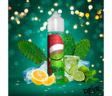 e liquide GREEN DEVIL 50ml fruité frais AVAP
