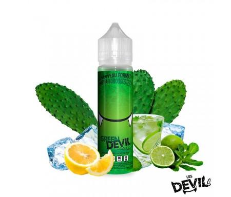e liquide GREEN DEVIL 50ml fruité frais AVAP Cactus sucré, citrons vert et jaune, fraîcheur