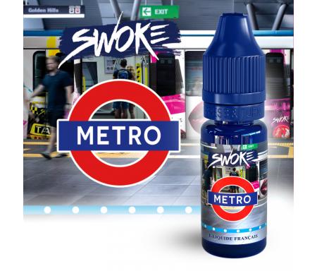 METRO 10 ml - SWOKE e-liquide