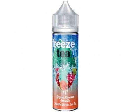 Goyave Grenade Groseille Menthe 50ml Freeze Tea Ice - Made in Vape