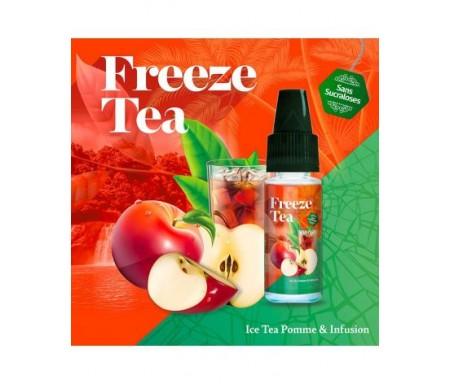 Ice Tea Pomme & Infusion 10ml Freeze Tea - Made In Vape