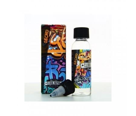 E-liquide GECKO 50 ml - CLOUD VAPOR