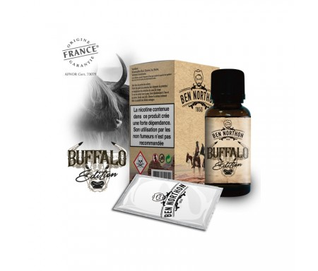 e-liquide Buffalo Edition 10 ml pas cher - Ben Northon, saveur classique
