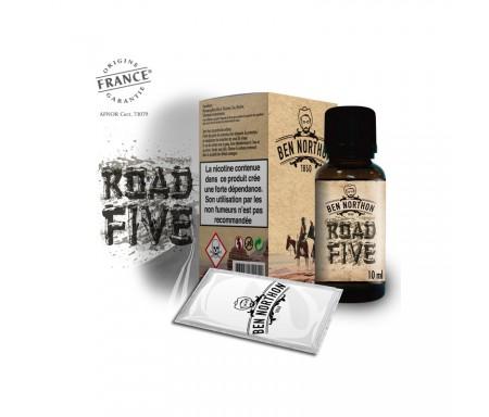 e-liquide ROAD FIVE 10 ml pas cher - Ben Northon, saveur classique