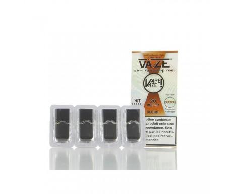 Cartouches Blond - Pour pod VAZE - 0.75 ml X 4