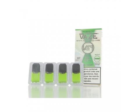 Cartouches APPLE BERRY - Pour pod VAZE - 0.75 ml X 4