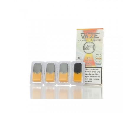Cartouches PEACH ORANGE - Pour pod VAZE 0.75 ml x 4