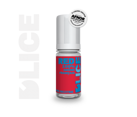 e liquide RED - dlice - bais rouges