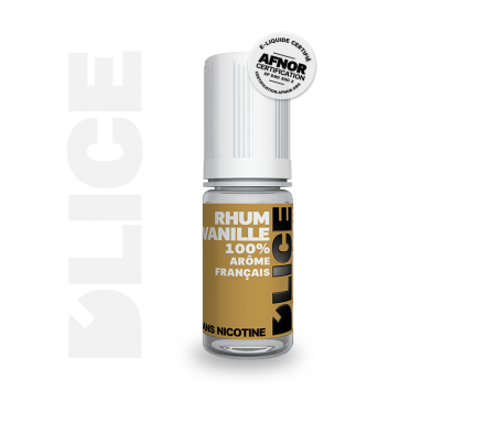 recharge e-liquide rhum vanille Dlice