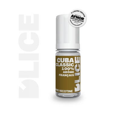 liquide pour vapoteuse CUBA CLASSIC par Dlice