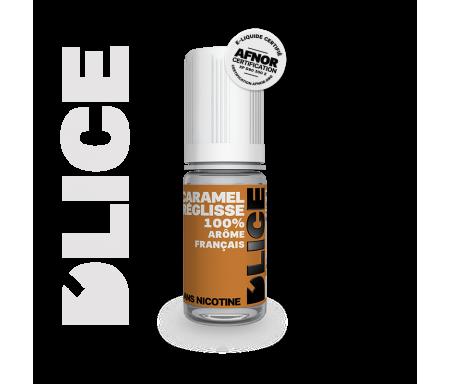 liquide Dlice caramel réglisse vapote