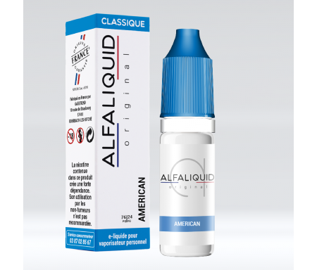 American 10 ml - Alfaliquid