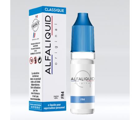 eliquide FR4 alfaliquid saveur classique blond