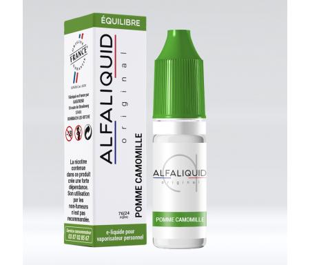 e-liquide Pomme Camomille pour cigarette électronique