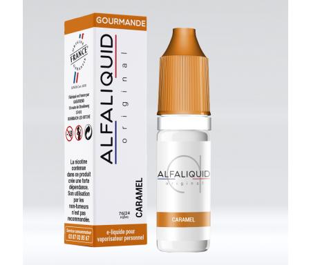eliquide Caramel par alfaliquid pour cigarette électronique