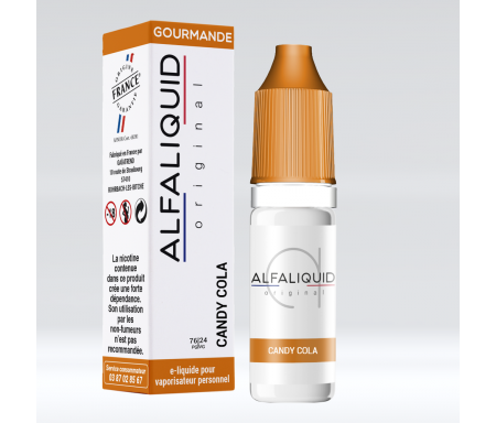 Alfaliquid bonbon cola pour cigarette électronique