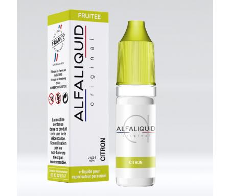 eliquide citron alfaliquid pas cher