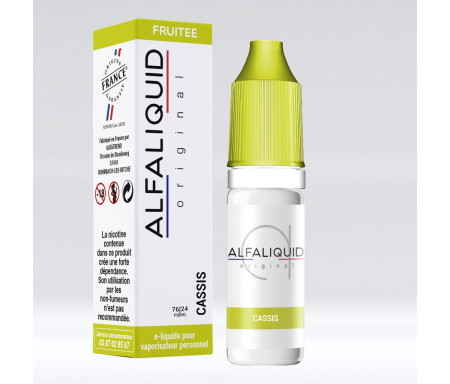 e-liquide cassis made in France par alfaliquid - original