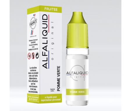 Pomme verte Alfaliquid pour cigarette électronique